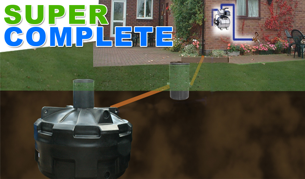 Super Complete Rainwater Harvesting System